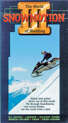 1993 – SNOWMOTION 3 – THE WORLD OF SLEDDING (PPI) Extreme Snowmobile DVD