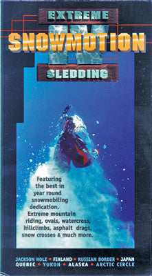 1997 SNOWMOTION 4 – EXTREME SLEDDING (PPI) Extreme Snowmobile DVD