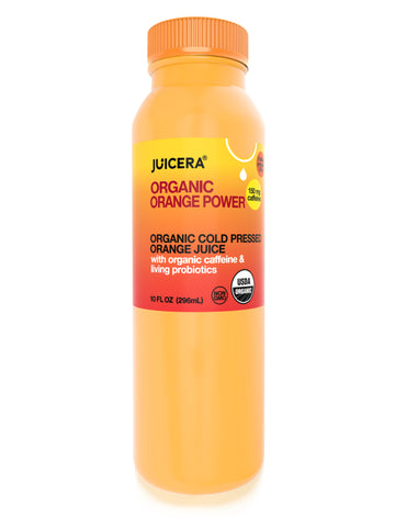 Organic Orange Power
