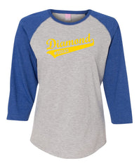 Diamond #Squad Baseball Tee