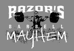 Razor's Barbell Mayhem Apparel 2020