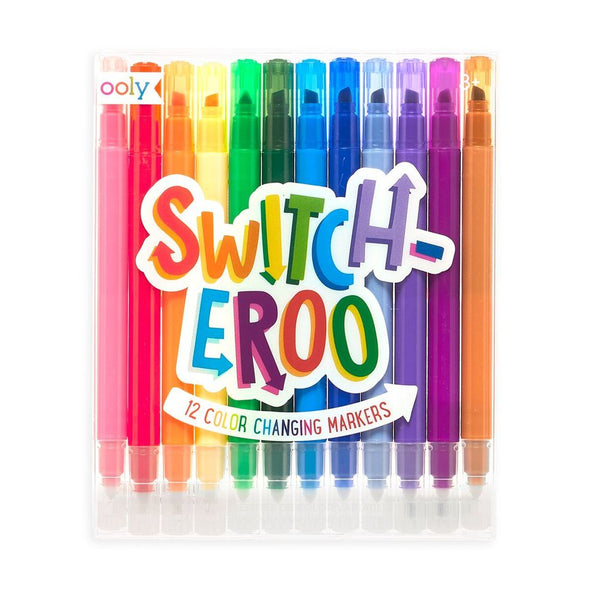 Switch-eroo! Color Changing Markers