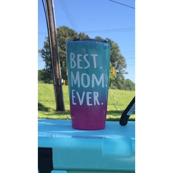 Yeti 20 oz Rambler - Best Mom Ever - Patriot Jacks Outfitters