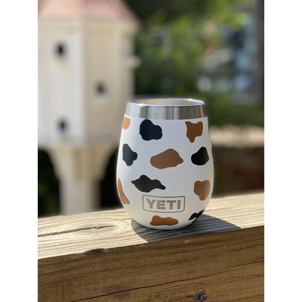 Carolina Hide YETI Wine Glass