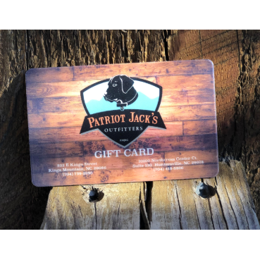 Patriot Jacks Gift Card - Patriot Jacks Outfitters