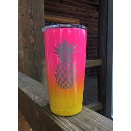 Yeti Rambler 20 oz - Pineapple Fade
