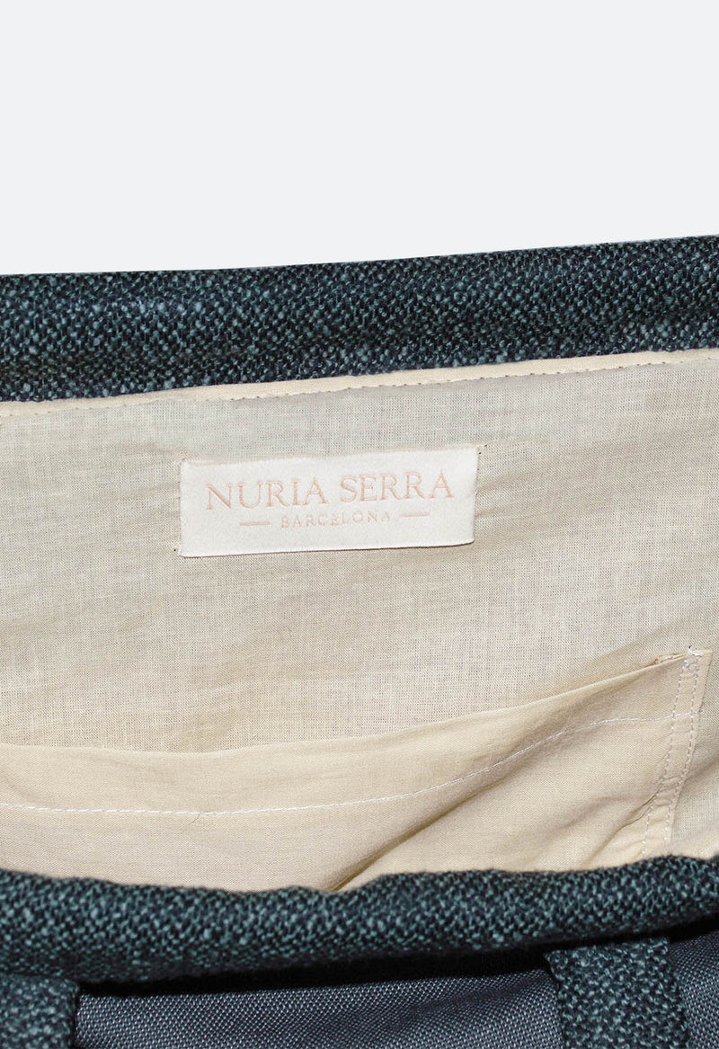 Shopping Bag NSB Green - NuriaSerraBarcelona