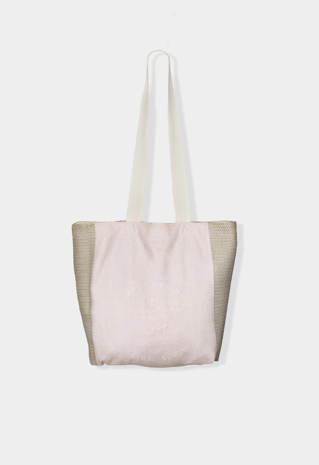 Bolso tote bag color pink