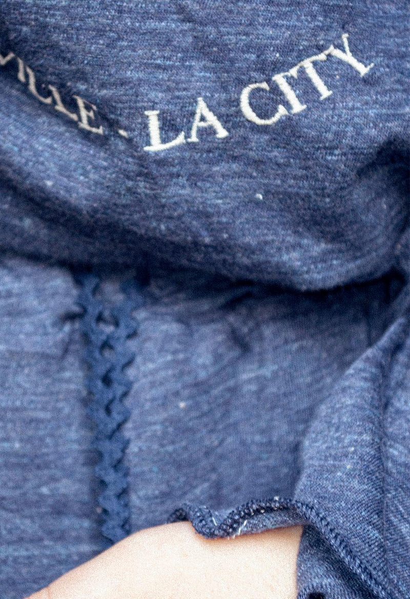 SWEATER NORTH ALGODÓN 100% DENIM - NuriaSerraBarcelona