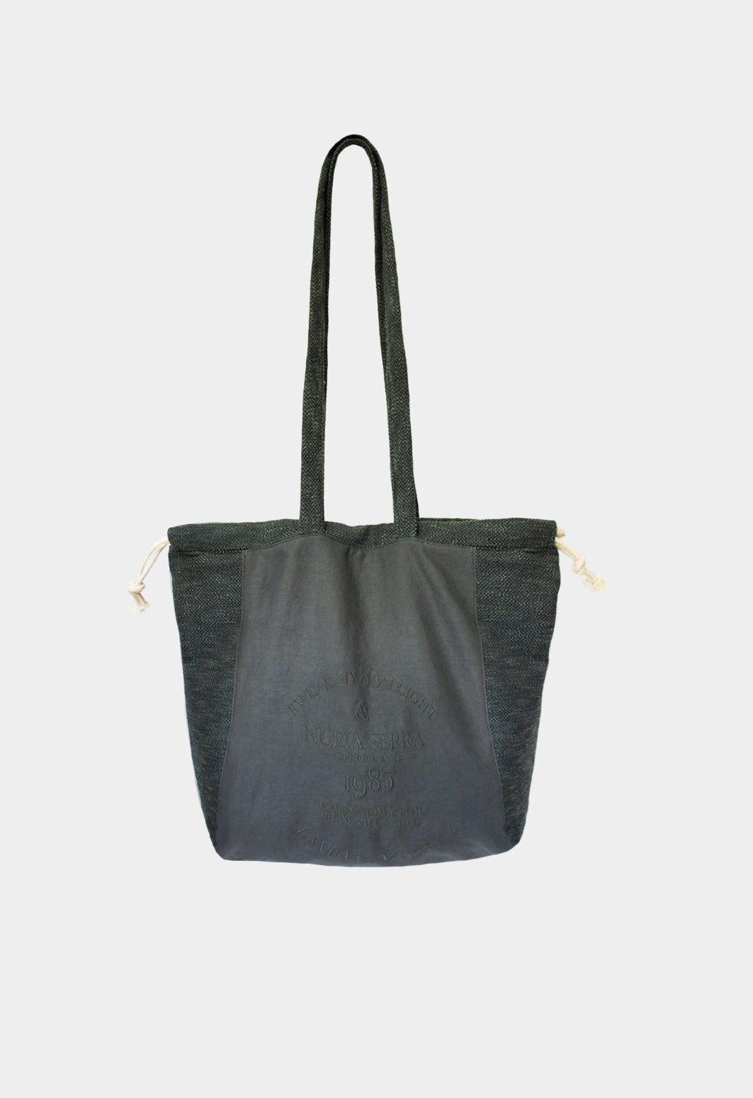Shopping tote Bag Verde botella