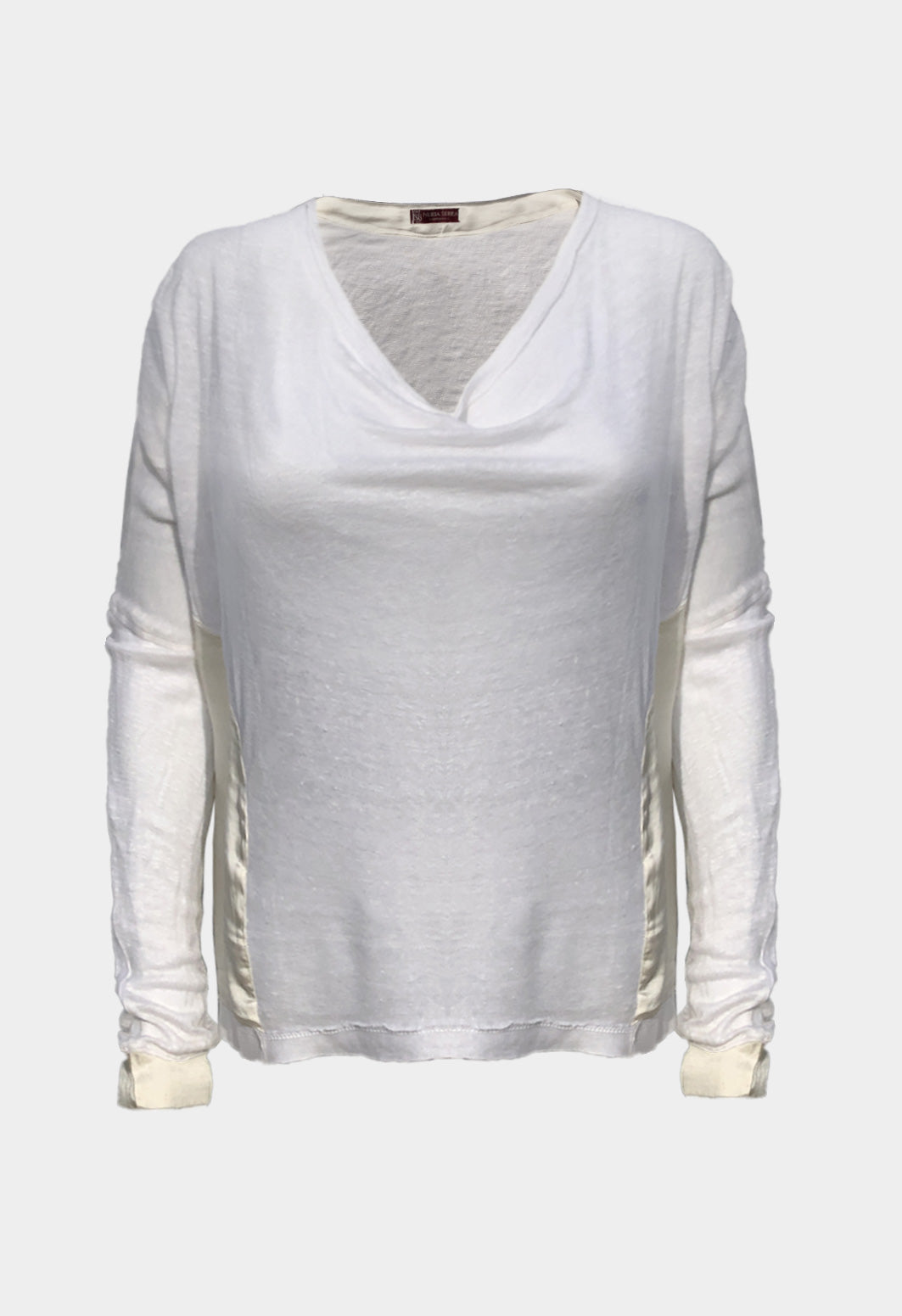 Sweater Lino Seda Blanco