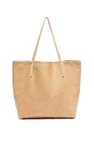 Taupe Basic Tote