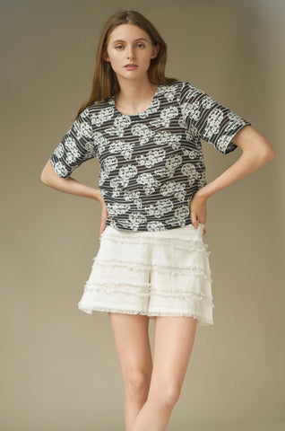 THE WHITE ROSE SHORT