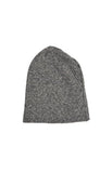 BLACK/GREY STRIPE BEANIE