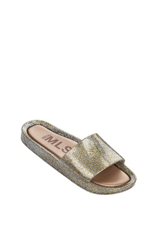 THE GOLD GLITTER BEACH SLIDE