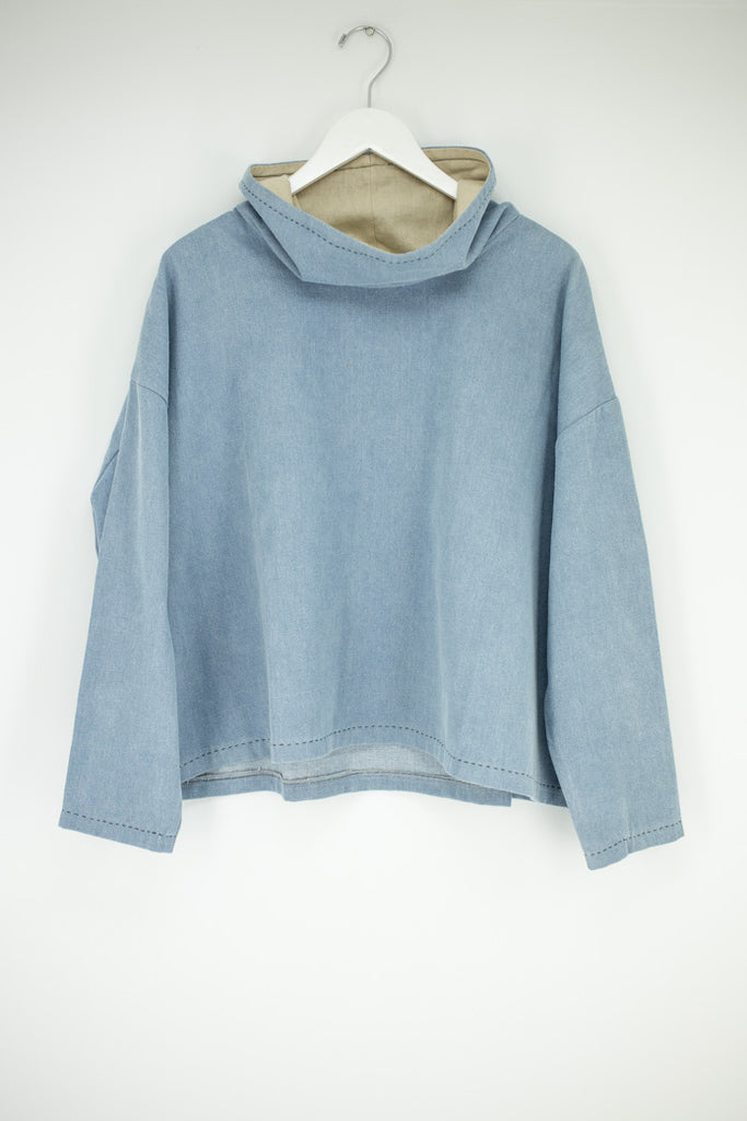 Denim HighNeck