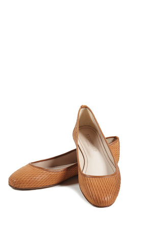 CUOIO PIA BALLET FLAT