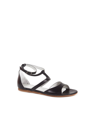 BLACK ORIA DEMI WEDGE