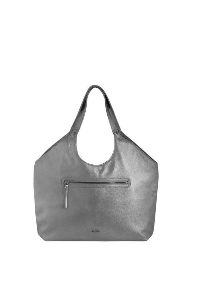 GRAPHITE WELTERWEIGHT TRIANGLE TOP TOTE