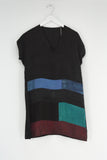 BORO V-NECK DRESS NO.25