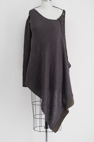THE ONE SLEEVE PONCHO