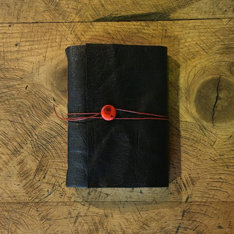 Handbound Leather Journal - Black