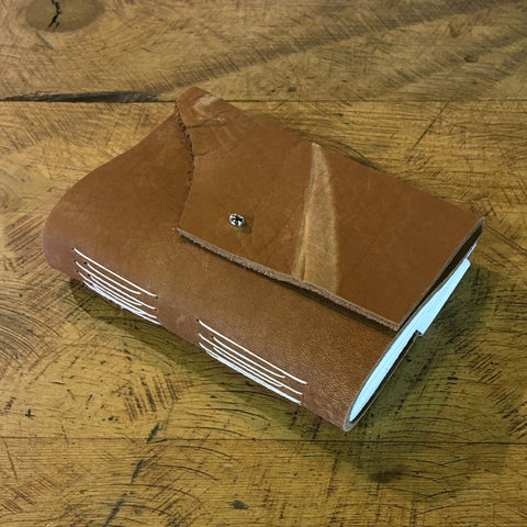 Handbound Leather Journal - Brown