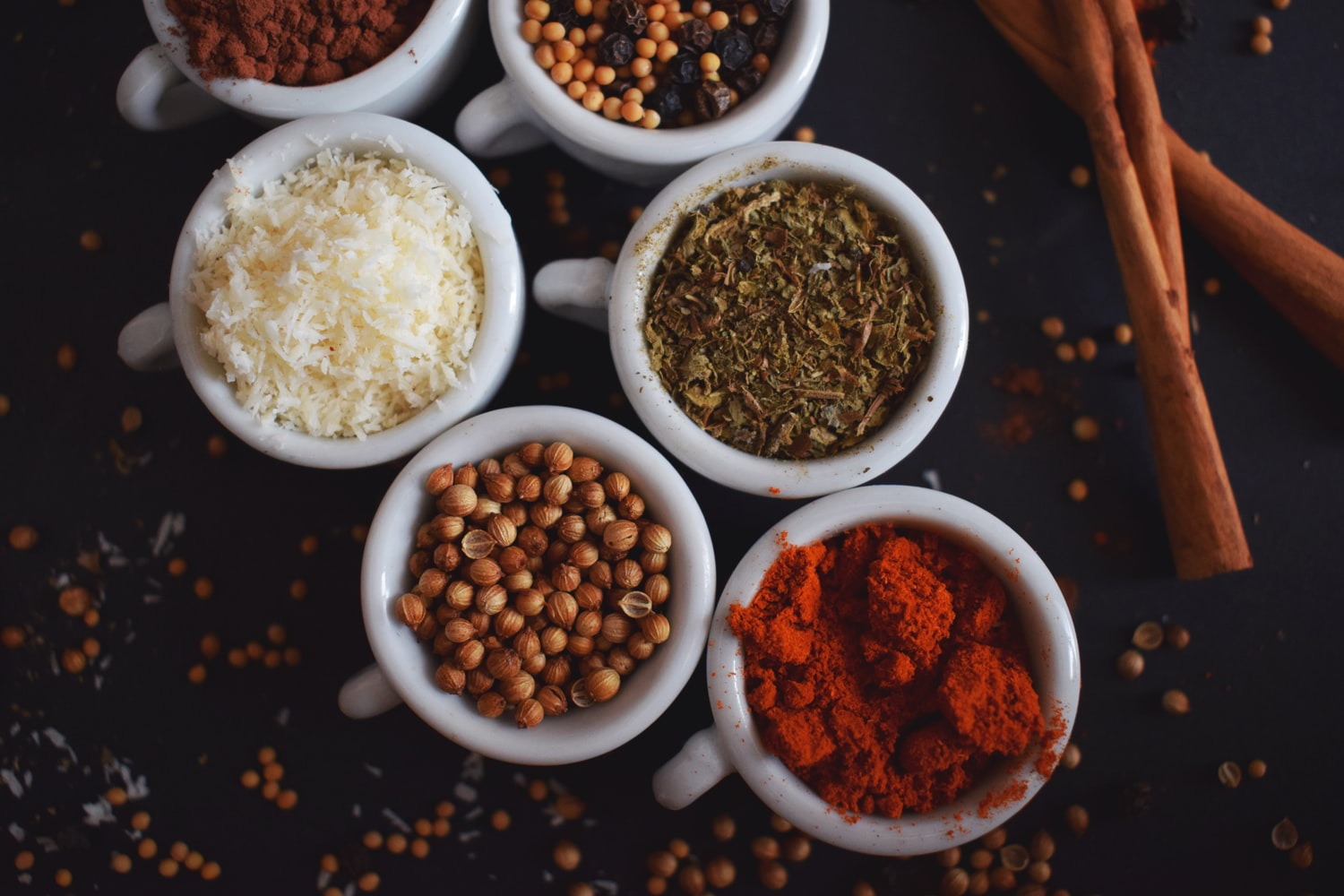 5 Spices for Healthier & Tastier Dishes