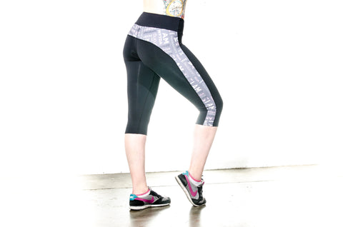 Athletic Line Compression Capri