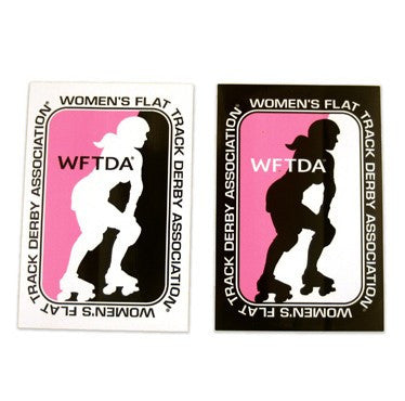 WFTDA Logo Sticker