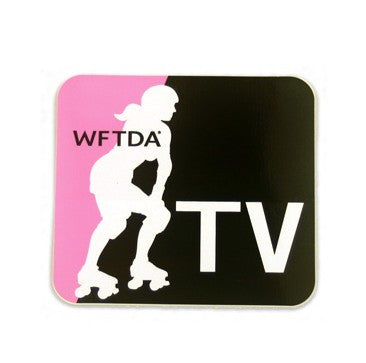 WFTDA.tv Sticker