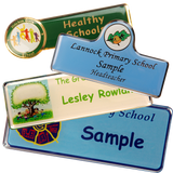 Premium crested  name - school badges