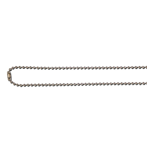 Nickel Free Bead Chain Necklace - 75cm - 100 Pack