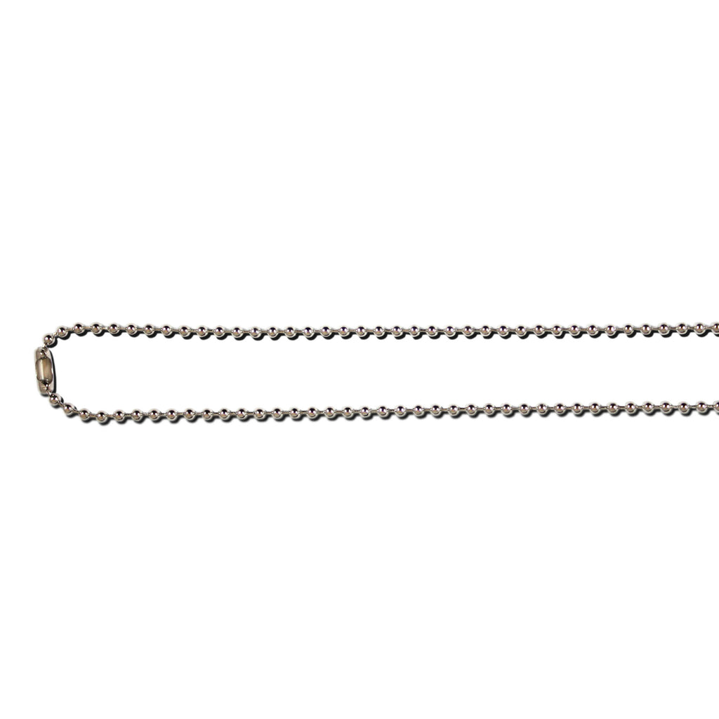 Nickel Free Bead Chain Necklace - 90cm - 100 Pack