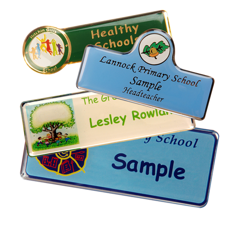 Crested Name Badges