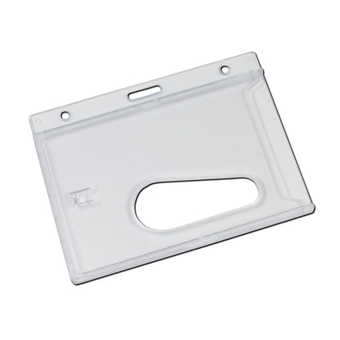 Access Card Dispenser with Thumb Notch - 100 & 5 Pack