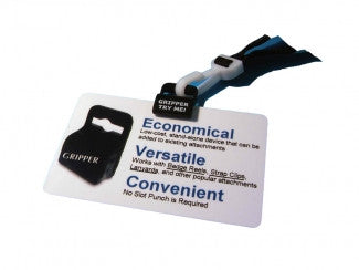 Rubber gripper for ID Cards
