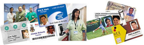 Identity and Security is available with custom printed ID Cards.