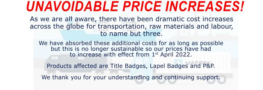 New Title Badge ordering