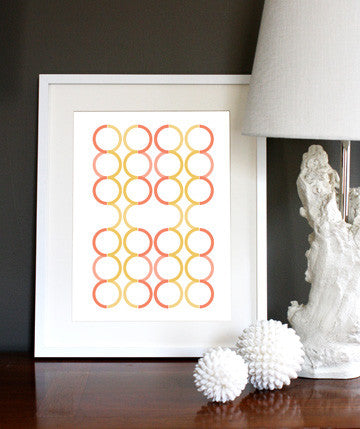 Linked Circles Citrus