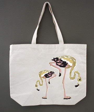 Flamingo Color Tote