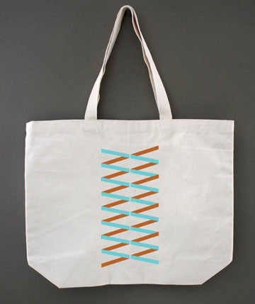 Geo Banner Tote