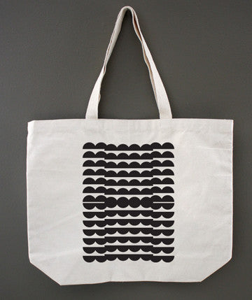 Copy of Scalloped Stripes Tote