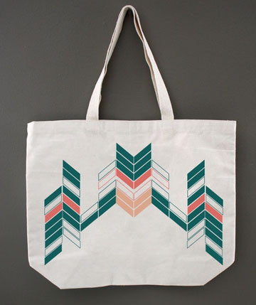 Varying Rectangles Tote
