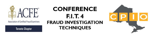 F.I.T.4 - FRAUD INVESTIGATION TECHNIQUES ONE-DAY CONFERENCE