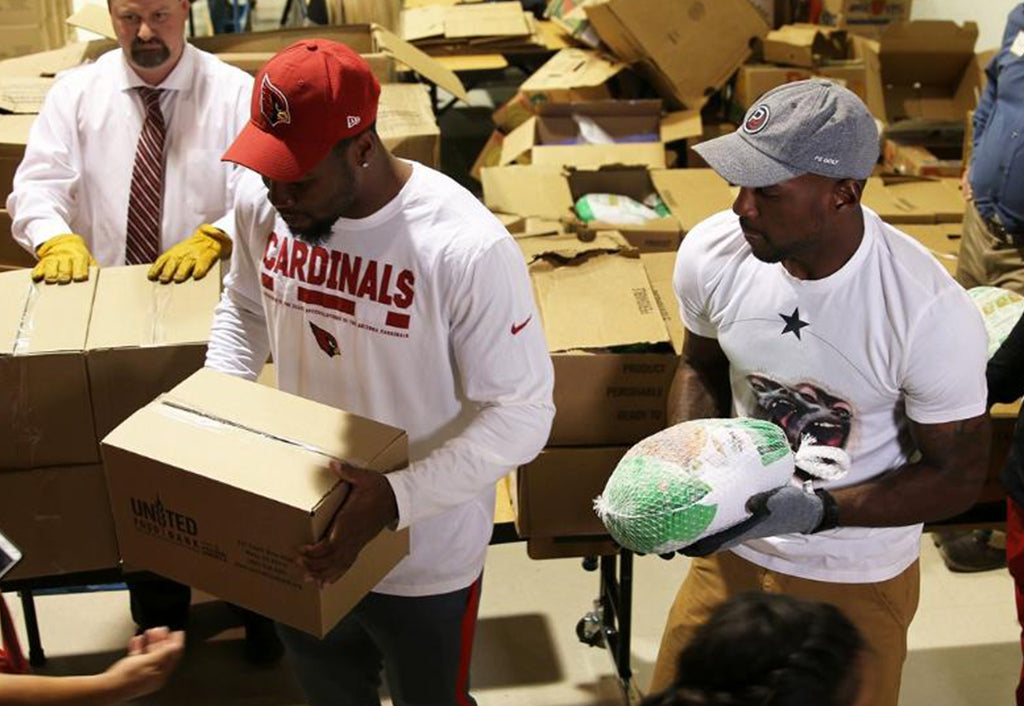 Patrick Peterson and Tyrann Mathieu Give Back | Patrick Peterson