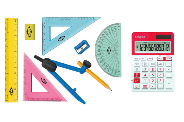 Calculator & Geometry Set