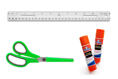 Glue, Scissors & Ruler