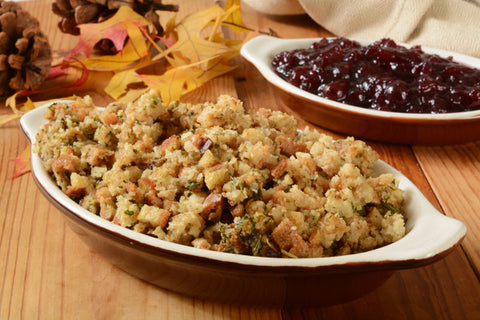 Stuffing & Cranberry Sauce