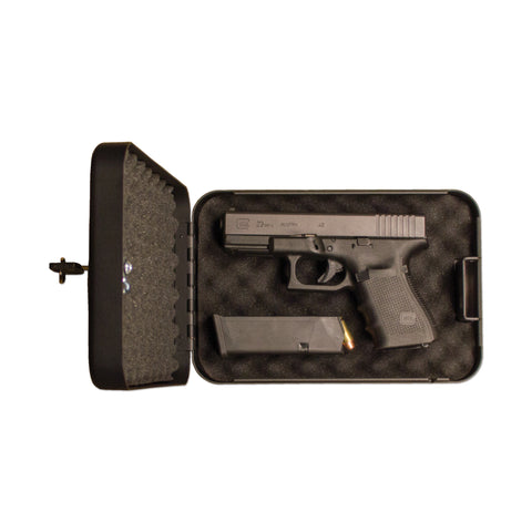 SPS-02 - Single Pistol Safe (with Key Lock)